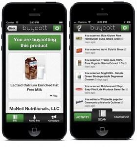 La consommation éthique selon Buycott