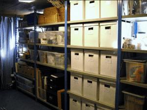 Une cave comme garde-meuble pour stocker