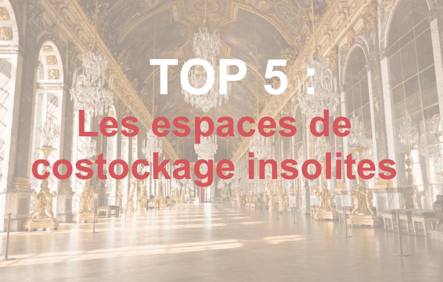 TOP 5 : Les espaces de stockage les plus insolites
