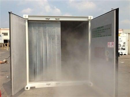 Des Containers Frigorifiques Contre des Puces de Lit ?